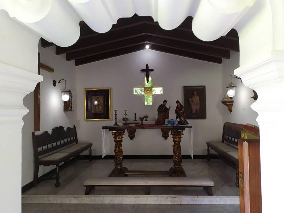 La capilla de La Casona.