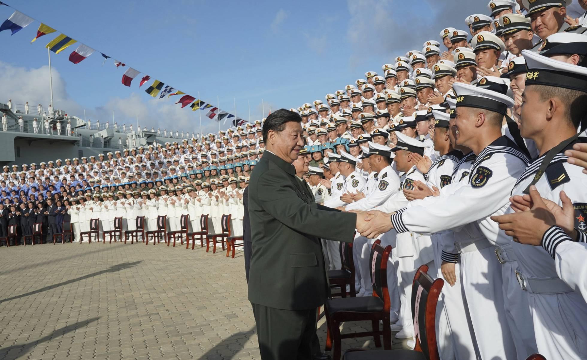 La expansión de la Armada china pone en alerta a EE.UU.