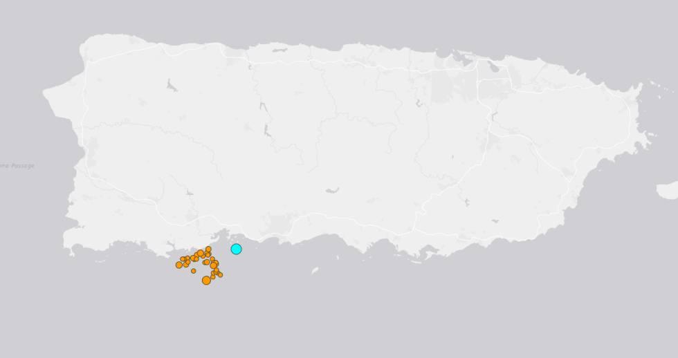 Temblor en Puerto Rico