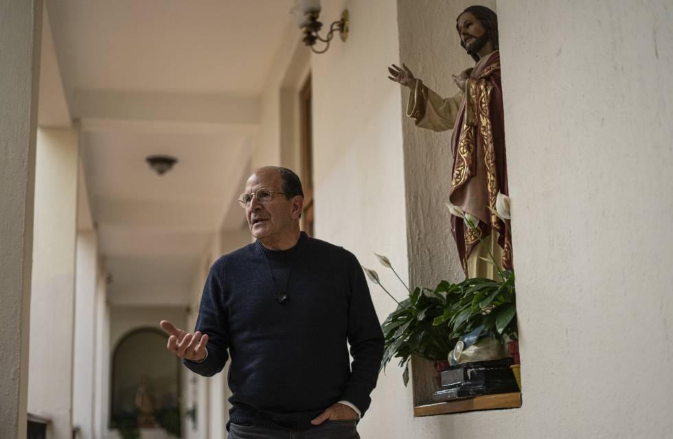 Alejandro Solalinde el martes en Ciudad de México