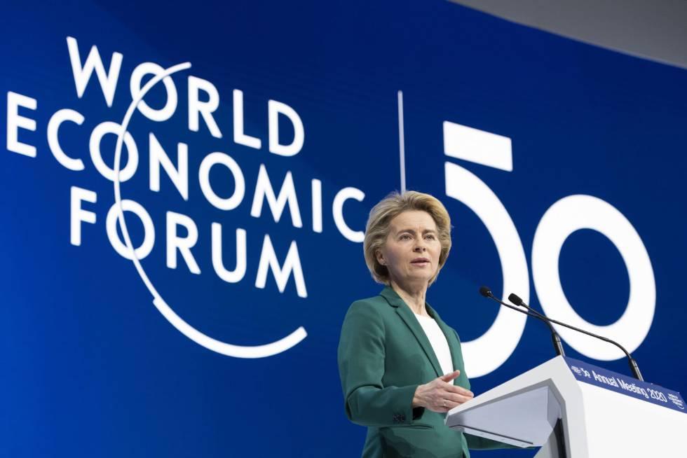 Von der Leyen defiende su Plan Verde como modelo de crecimiento para Europa