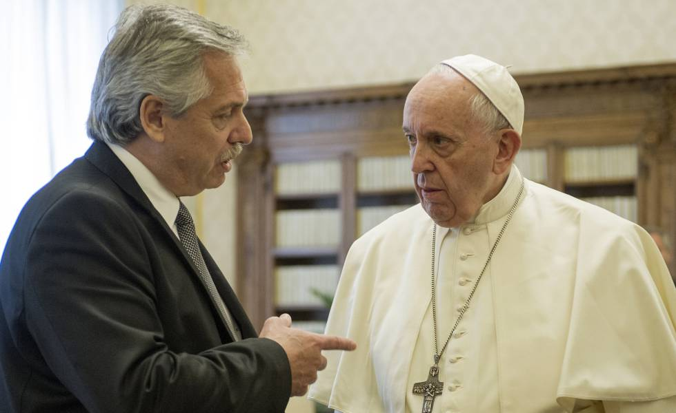 Alberto Fernández apunta que el Papa ayudará en la negociación con el FMI | Internacional | EL PAÍS