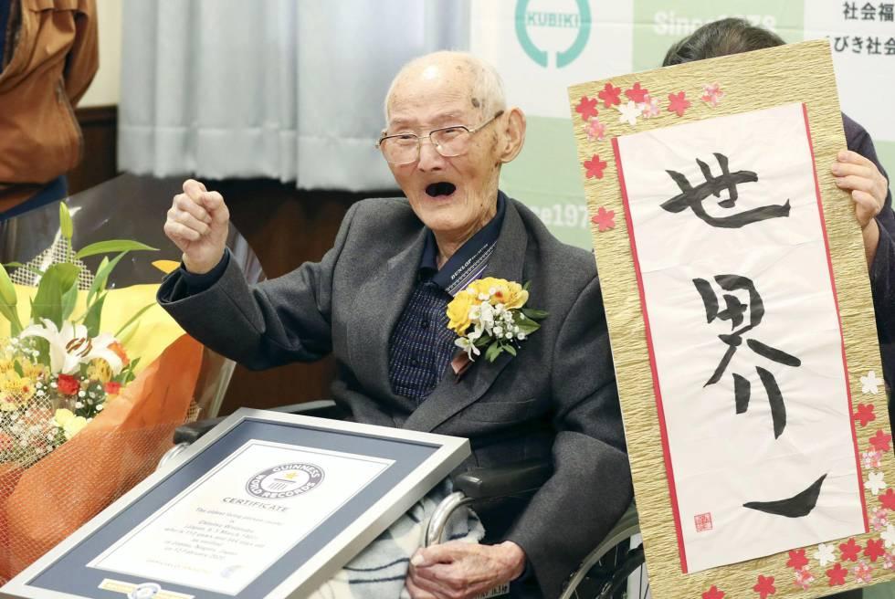 Image result for Muere Chitetsu Watanabe, el hombre más anciano del mundo 11 días después de recibir el Records Guinness