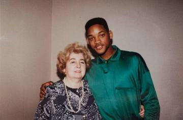 Maria Snoeys-Lagler y Will Smith.