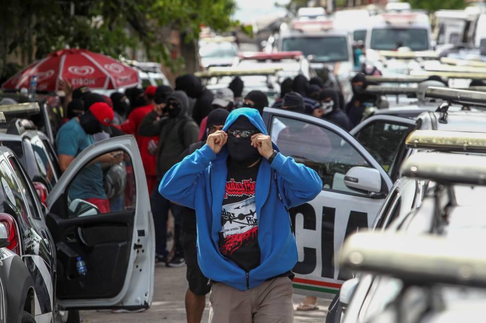 La revuelta policial en Ceará, al noreste de Brasil.
