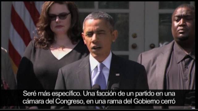 """Obama afirma que EE UU es rehén de """"una cruzada ideológica"""""""