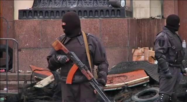 Ucrânia forma um grupo antiterrorista.