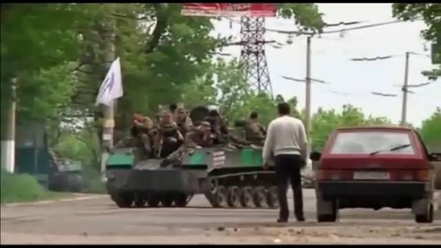 Las tropas ucranias toman posiciones para recuperar las zonas rebeldes del este
