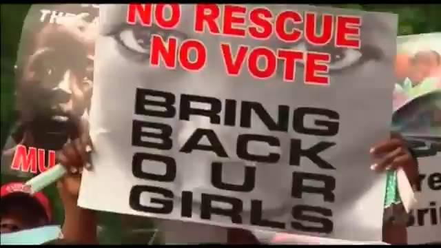 As jovens nigerianas sequestradas serão vendidas.