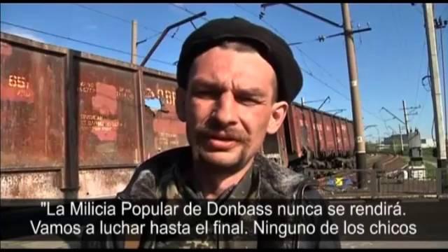 As batalhas na Ucrânia continuam.