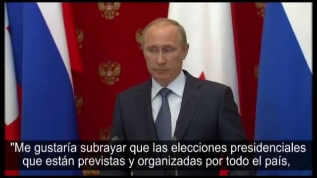 O presidente Vladimir Putin, nesta quarta-feira.