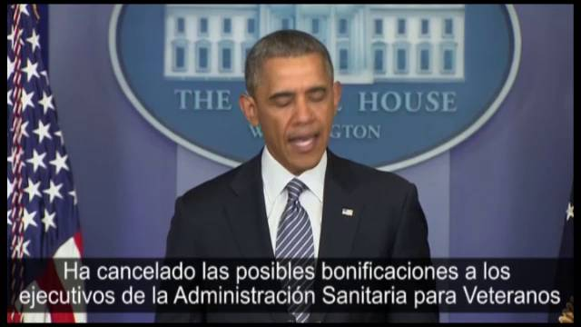 Obama fala da saída do secretário.