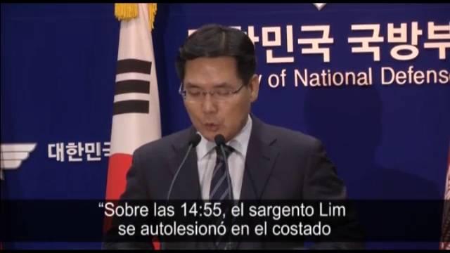 Capturado el soldado surcoreano que mató a cinco compañeros el sábado