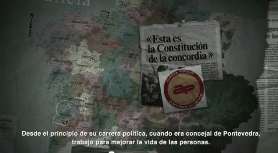 Fotograma del vídeo de Rajoy.  Míralo en Youtube
