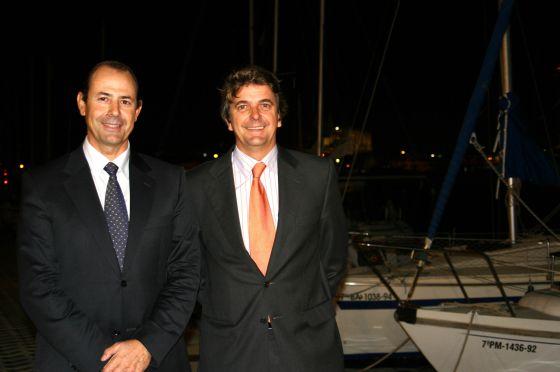 Jorge Forteza y Pedro Perelló, en 2007. / tooru shimada