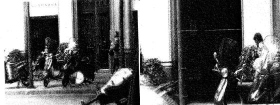 Imágenes captadas por la policía a principios de 2011 —e incorporadas al sumario— en las que se ve al secretario general de CiU, Oriol Pujol, en un restaurante de Barcelona en compañía de empresarios.