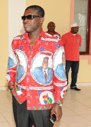 Teodoro Nguema Obiang Mangue, vicepresidente segundo de Guinea Ecuatorial e hijo del dictador.