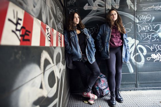 Las hermanas Nolla estudian cuarto de la ESO en el Instituto Bilingüe Beatriz Galindo, en Madrid.