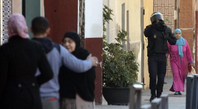 Detenidos en Ceuta cuatro presuntos yihadistas dispuestos a atentar