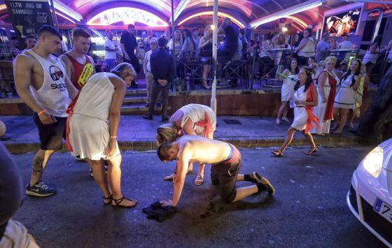 spanish tourism  magaluf  the eternal hangover