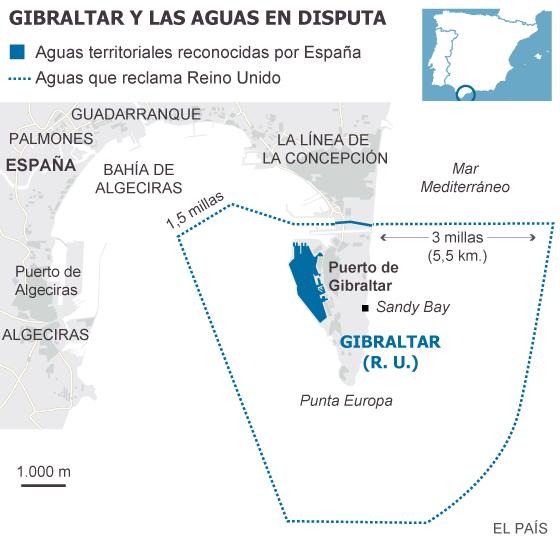 Aguas Territoriales Españolas Mapa.Reino Unido Acusa A Espana De Entrar Ilegalmente En Aguas De