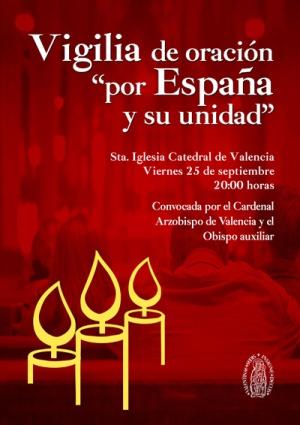 Rezar por la unidad de España