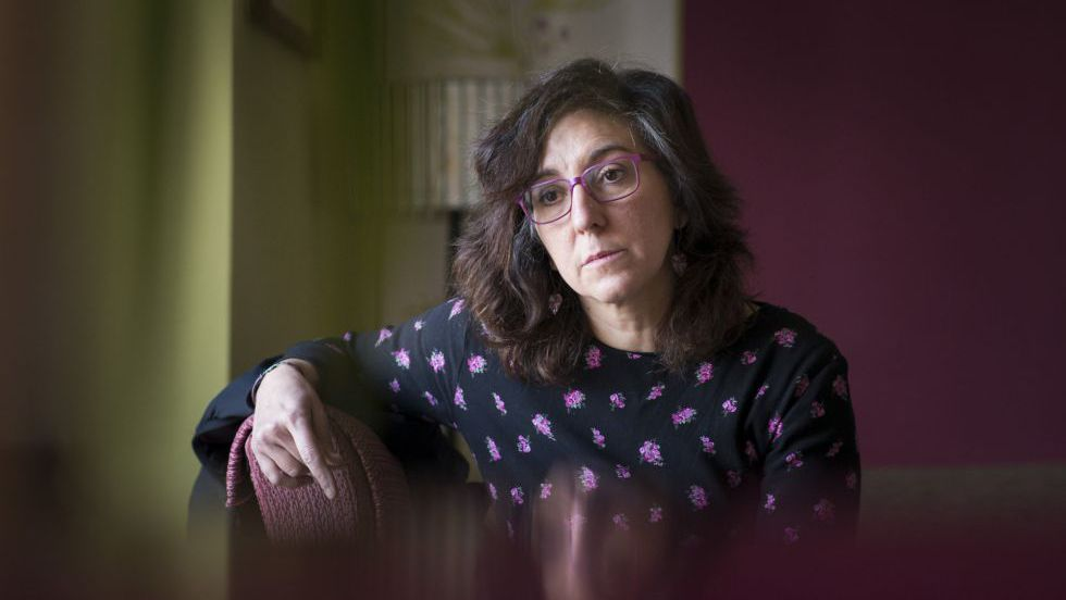 A parteira Glória Labay, 51 anos.