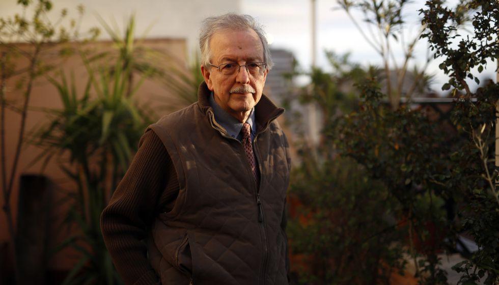 El historiador Juan Pablo Fusi en Madrid.
