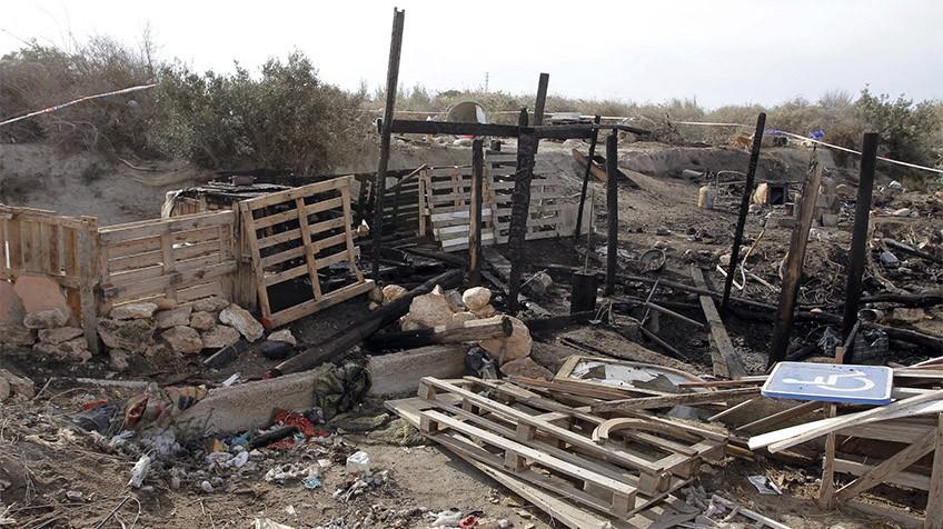 En estado crítico una mujer rociada con gasolina por su pareja en Almería