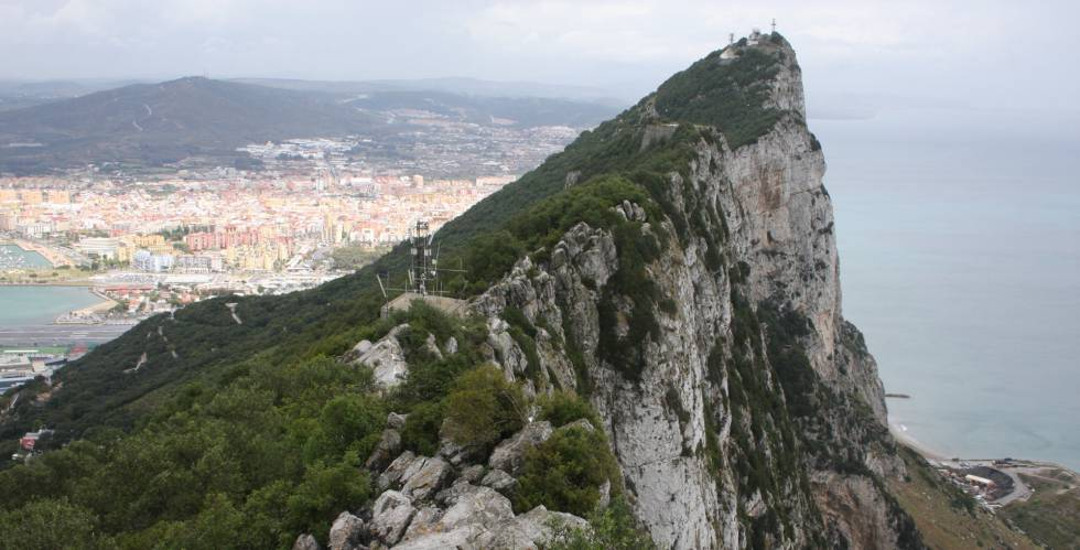 El Peñón de Gibraltar, en una imagen tomada el pasado mayo.