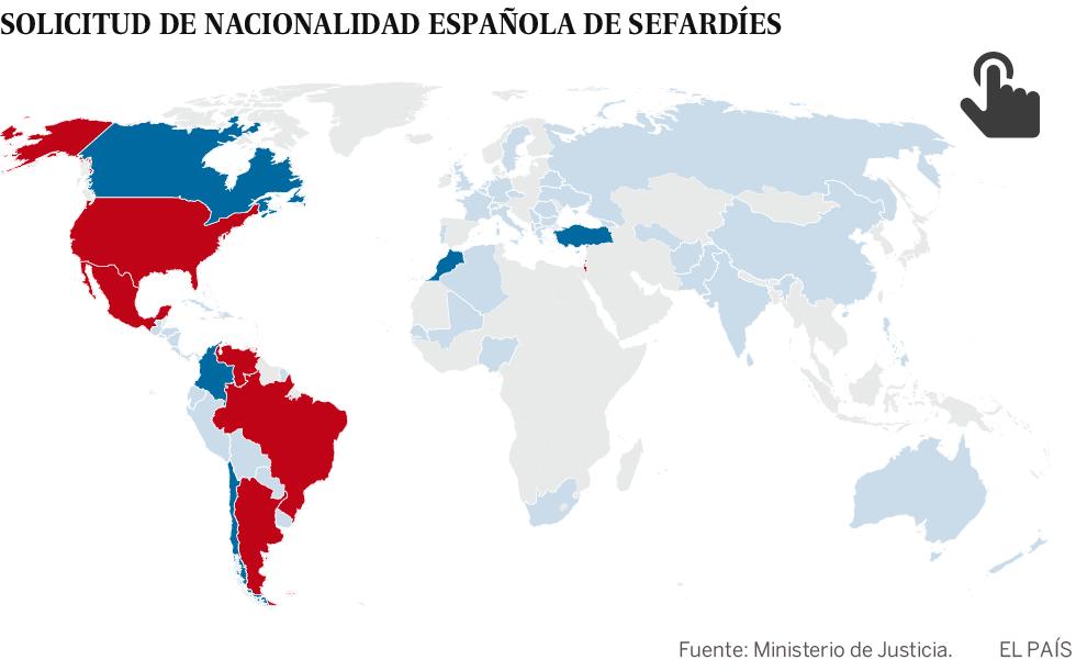 Solo 2.424 sefardíes han pedido la nacionalidad española | España ...