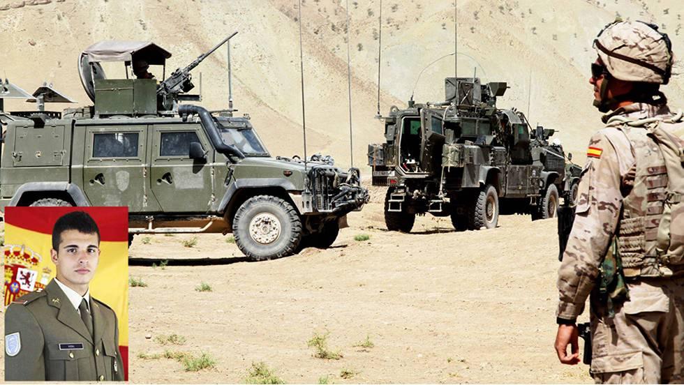 Un soldado español muerto y otros dos heridos en Irak al chocar un camión contra su blindado