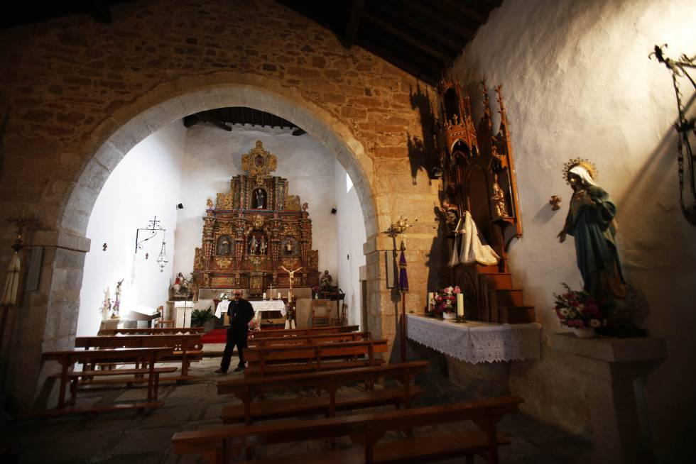 Unprotected churches in rural Spain are easy targets for thieves.