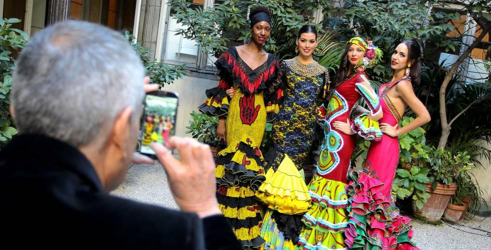 Africanos AbrilEspaña País De El Feria Trajes Colores La Para kZPuXi