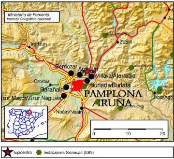 Small Tremor In Spain Spanish Region Of Navarre Hit By Earthquake