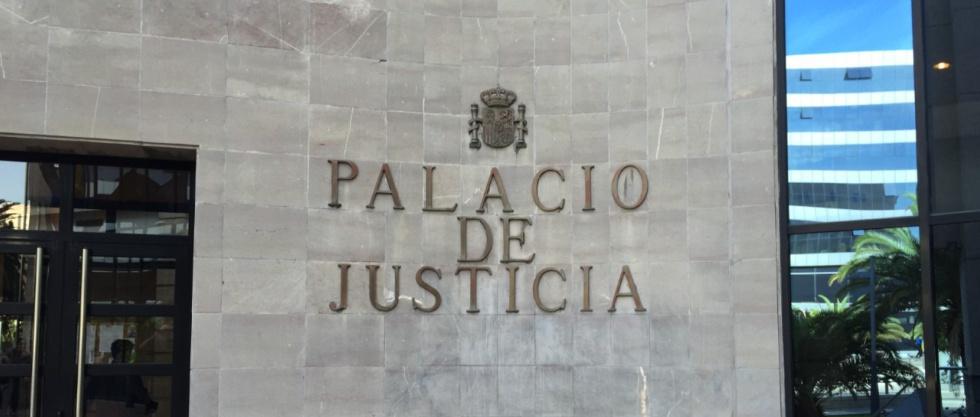 Resultado de imagen de palacio justicia tenerife
