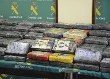 La Guardia Civil se incauta de media tonelada de cocaína en Vitoria