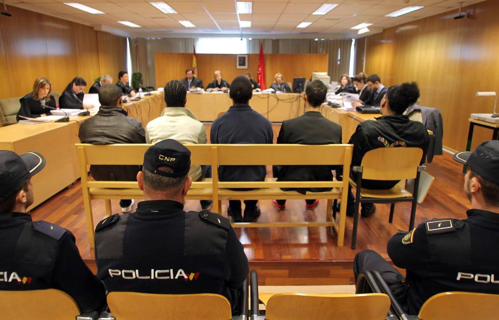 A Madrid court hearing in 2011.