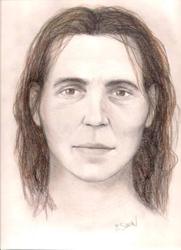 Aproximación facial de Elba dibujada por la colaboradora del proyecto Marga Sanín.