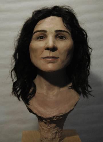 Resultado final de la aproximación facial en tres dimensiones.