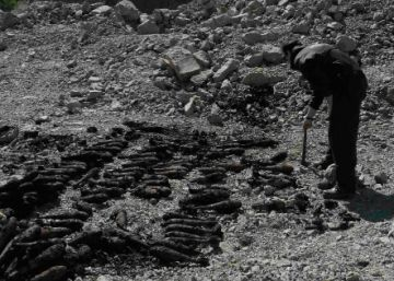 Wet, but still deadly: haul of Spanish Civil War mortar shells surfaces