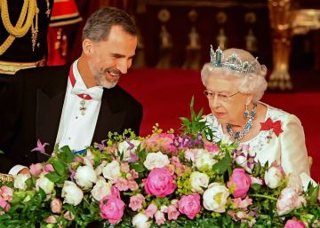 "Queen Elizabeth pays tribute to ""great strengths"" of relationship with Spain"