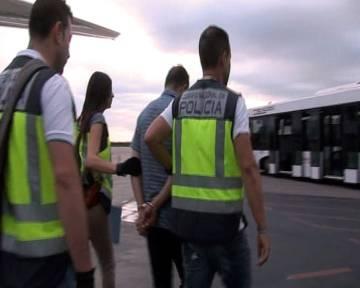 El fugitivo detenido en Nueva York a su llegada a España esta semana.
