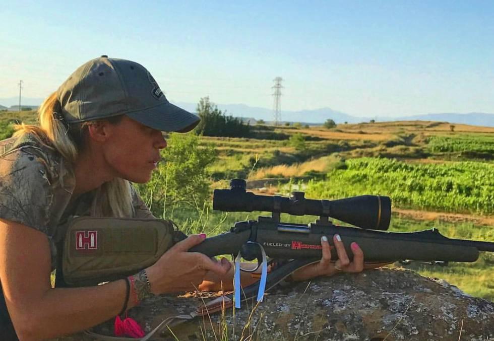 Melania Capitán en una foto de su página Facebook.
