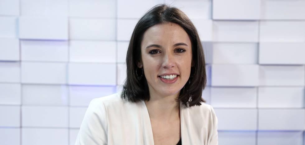 La portavoz de Podemos, Irene Montero.