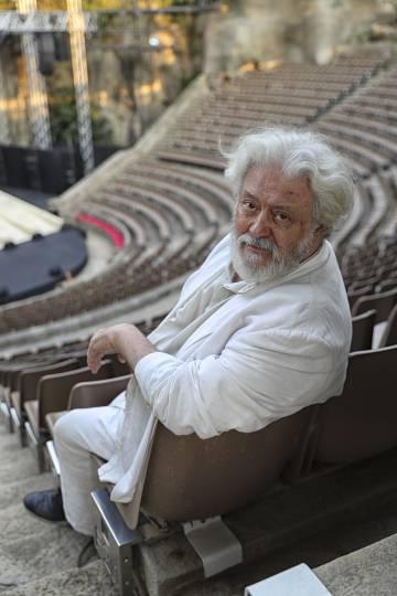 El actor y director de teatro Mario Gas, en el Teatre Grec.