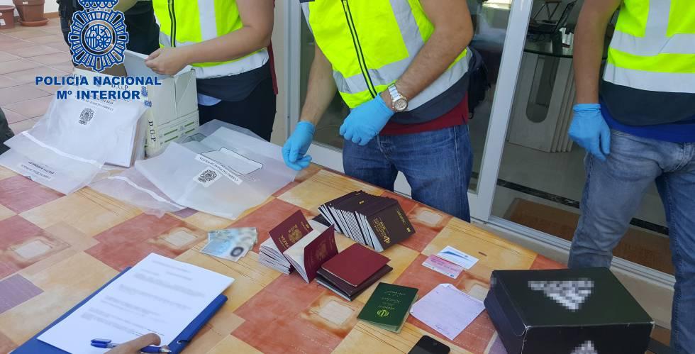 Imagen de la documentación descubierta tras las detenciones.