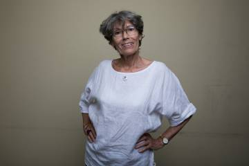 Marisa Mediavilla, fundadora de la Biblioteca de Mujeres