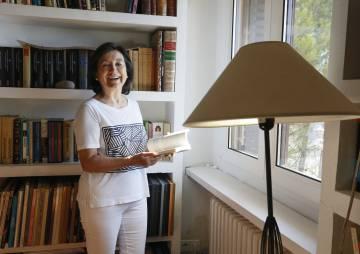 Inés Alberdi, exdirectora de UNIFEM, en su casa de Guadalajara.