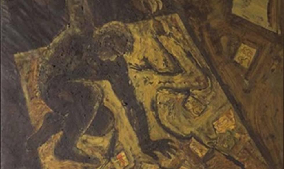 'Furor Penellis', de Miquel Barceló, una de las obras intervenidas a la trama Púnica en Ginebra.